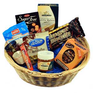 Gifts presents flowers and gift baskets best sellers from red diabetic gift basket filled with treats for a diabetic negle Gallery